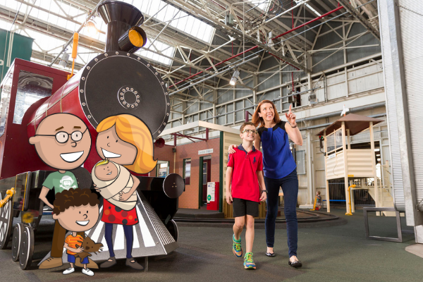 Mother's Day at The Workshops Rail Museum