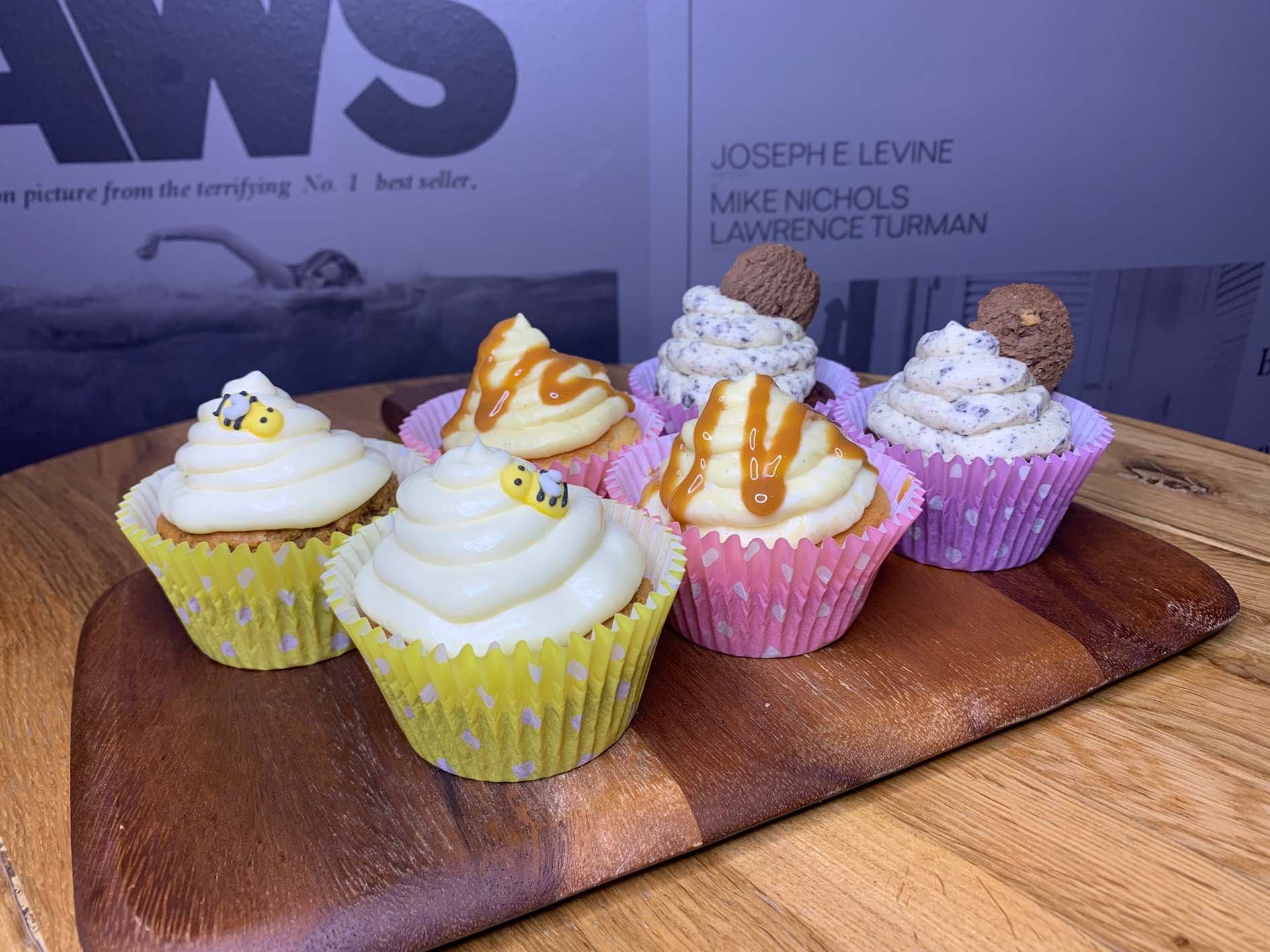 Cupcake boxes at limelight