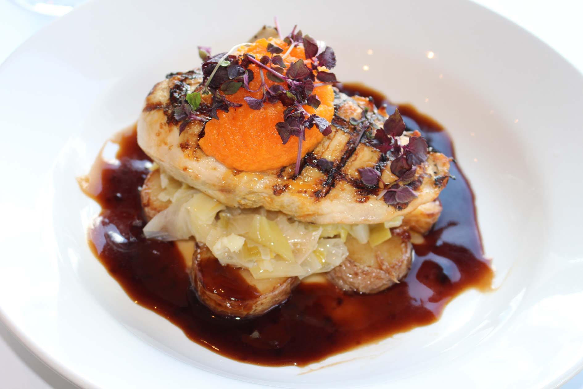 Brookwater char grilled chicken